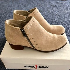 Brand New Minnetonka Ankle Boots